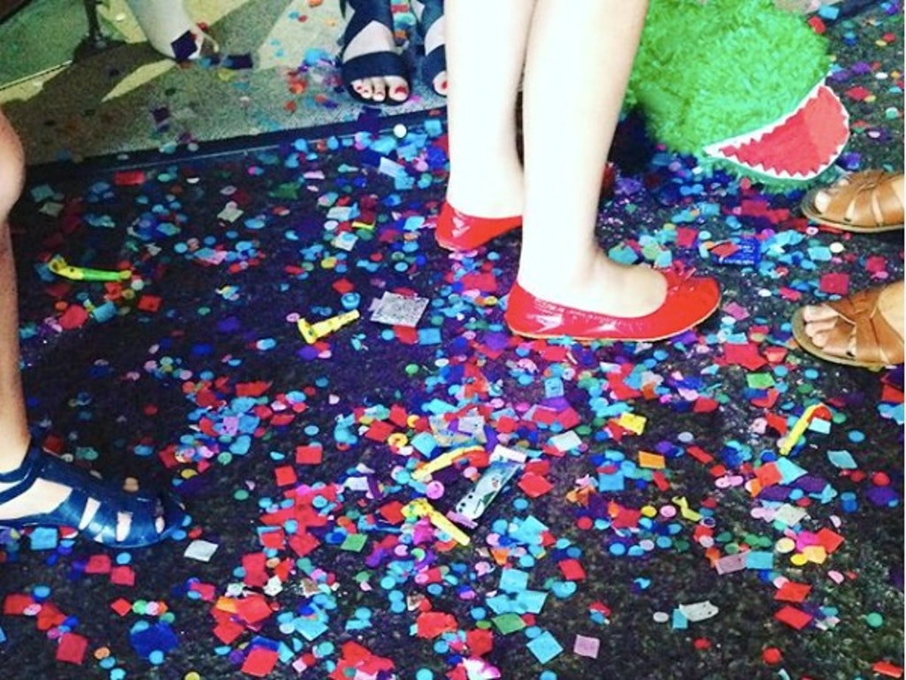 hen's party sparkle floor