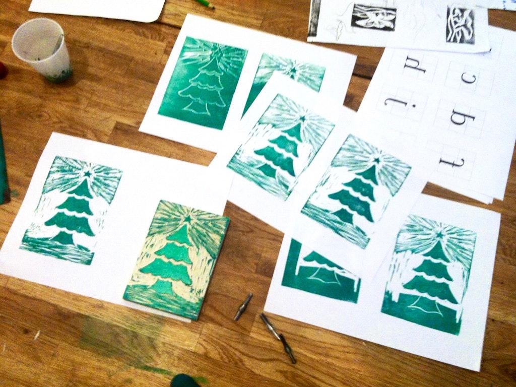 WS - xmas cards promo Xmas - Malou Zuidema