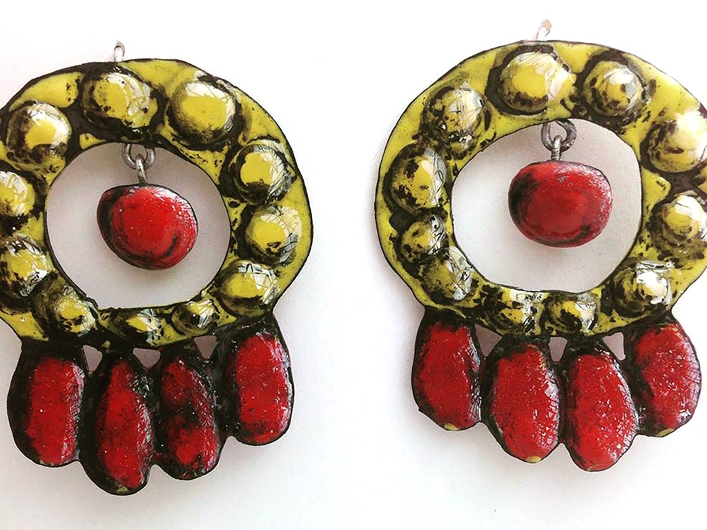 Linda Blair Liquid Enamel jewellery