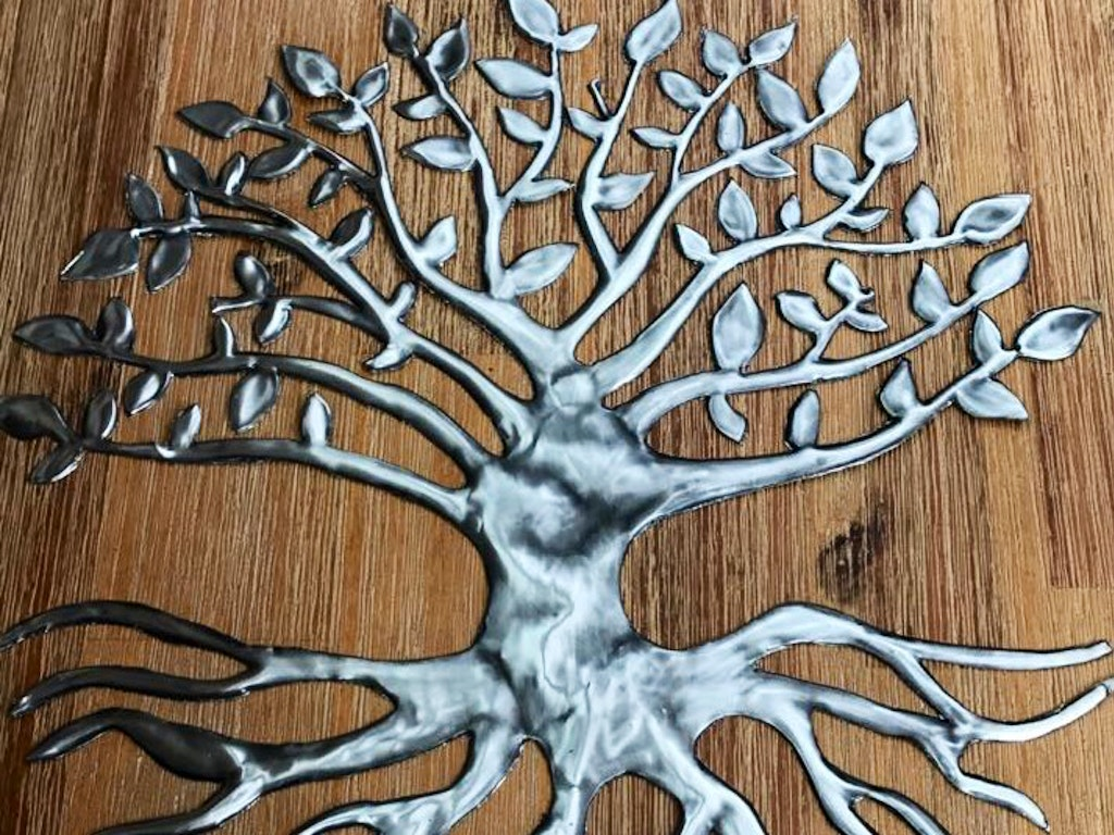 Pewter Tree
