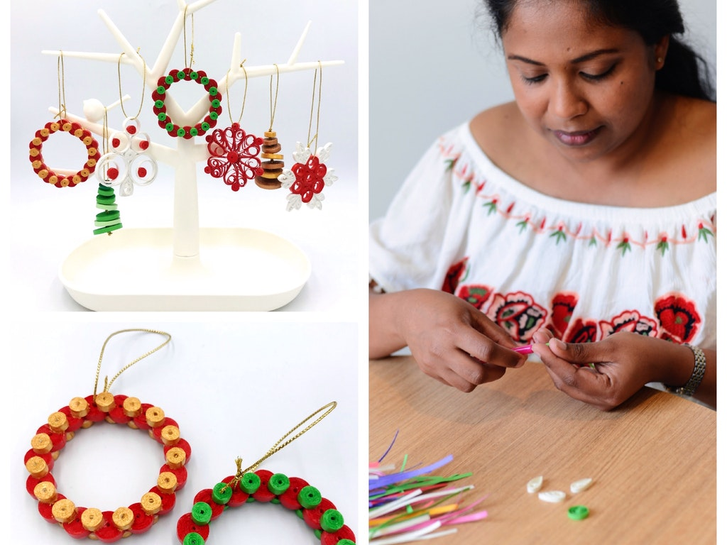 ethical recycled earrings