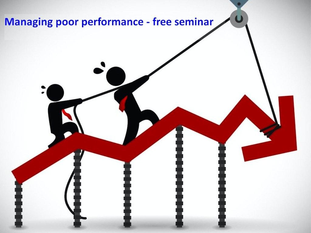 Managing poor performance 2