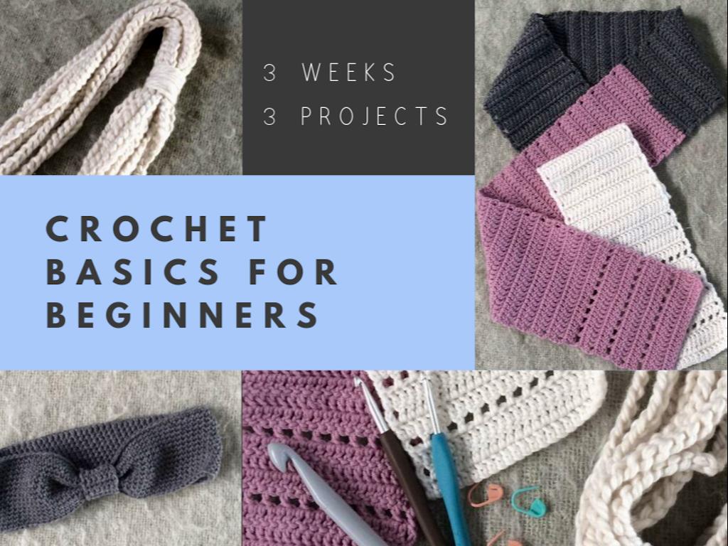 CROCHET BASICS FOR BEGINNERS