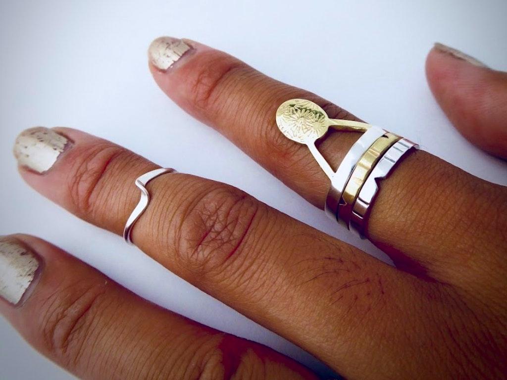 Mel's stacking rings