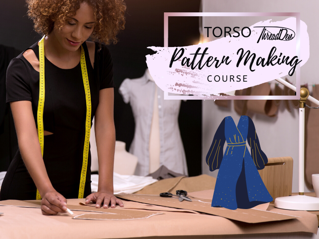 Torso pattern drafting listing image