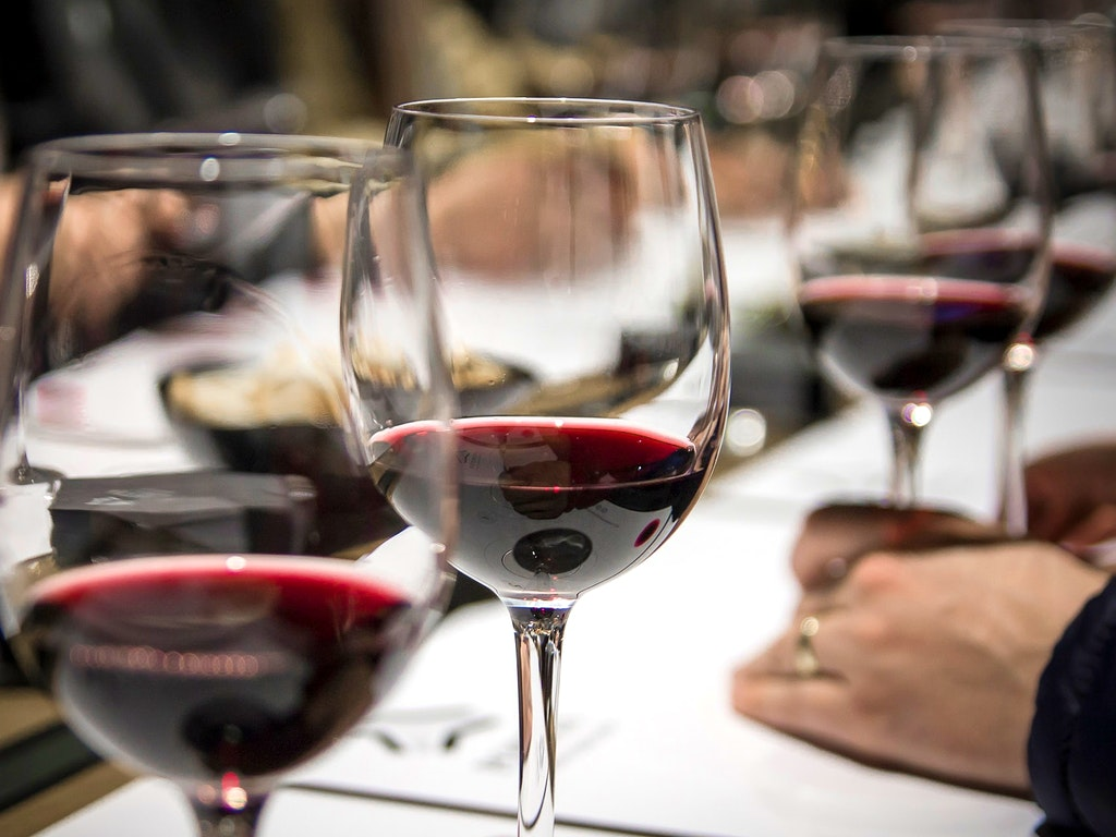 Red wine flight
