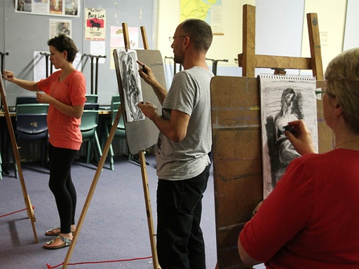 Life Drawing at Mosman Community College