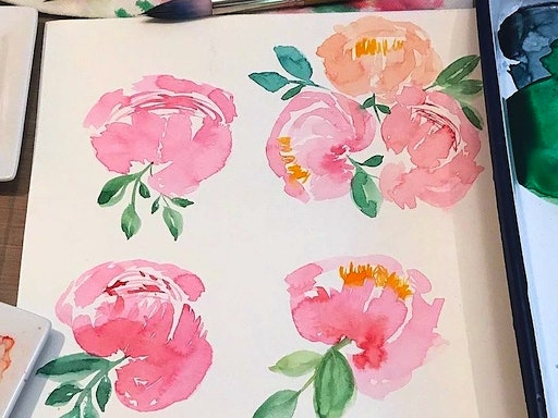 Watercolour Basics at Classbunny