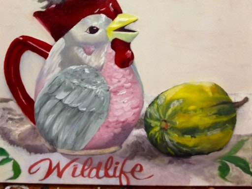 Learn to paint in oils with Jacqui Stockdale