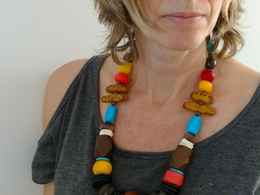 Clay Bead Making & Bohemian Style Necklace with Etelage (Photo Credit to Etelage)