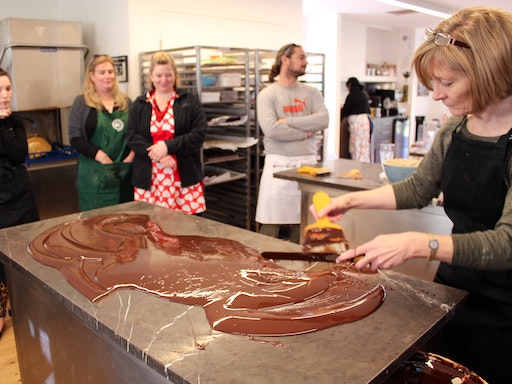 A class at Sydney Chocolate School (Photo Credit to Taste Travel)