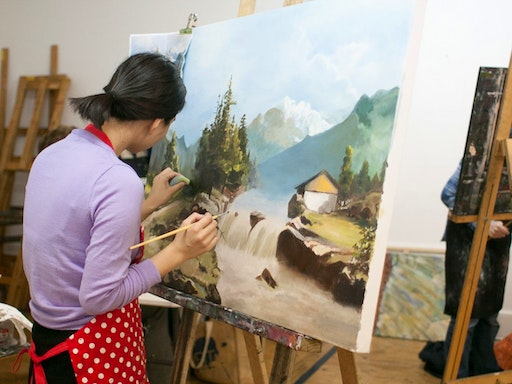 Art on King offers many classes on all mediums, in different levels