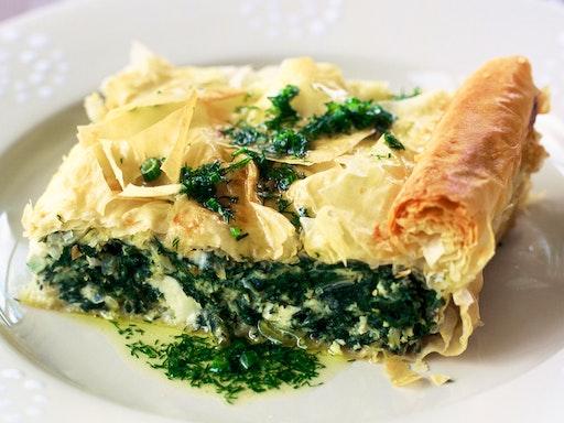 Hands On Greek Pittes at My Greek Kitchen (Photo Via Taste.com)