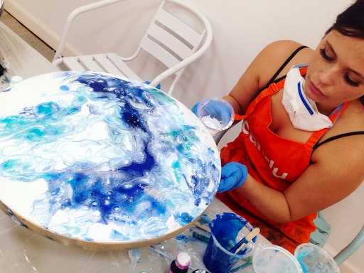Resin Art Workshop at Candu Creative