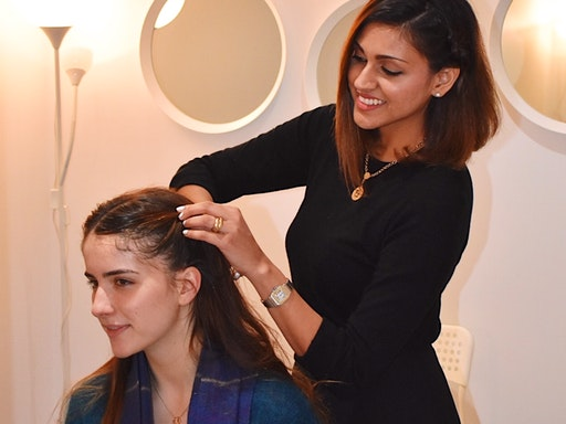 Understanding hairstyling techniques with Devyani