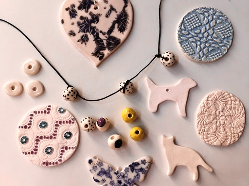 Ceramic Jewellery Workshop at Sew Make Create