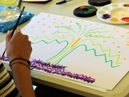 Unlike counselling and psychology sessions, art therapy can be used purely to enhance well-being in the participant through engagement in creativity assisted by the knowledge and guidance of the art therapist to facilitate that process.