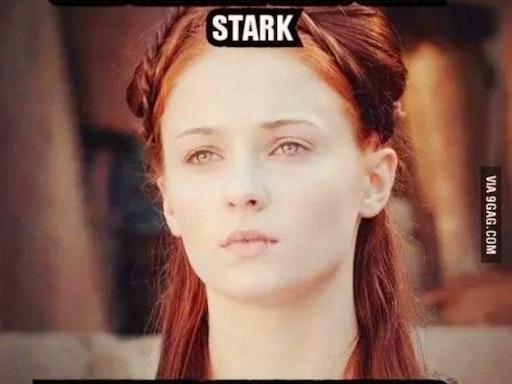 Sansa Stark to infinity!
