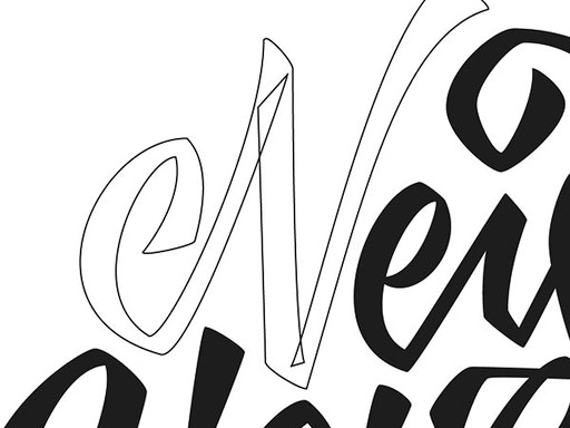 Vector Lettering at Work-Shop